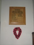 Image for Ardley & Fewcott Great War Memorial  Plaque - Oxon