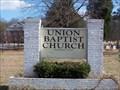 Image for Union Baptist Church Cemetery - Lipscomb, AL