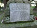 Image for WWI/II Memorial Cross, St. Mary's Churchyard, Highley, Shropshire, England