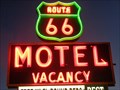 Image for Route 66 Motel - Neon - Barstow, California, USA.