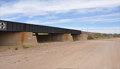 Santa Fe Plate-Girder Bridge ~ Hackberry, Arizona - Railroad