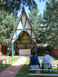 Wedding Chapel Colorado Renaissance Festival Larkspur Co Chapels On Waymarking