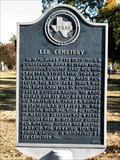 Image for Lee Cemetery