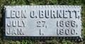 Image for Burnett - Middlefield Center Cemetery - Middlefield, Ohio