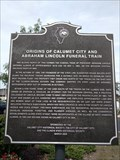 Image for Origins of Calumet City and Abraham Lincoln Funeral Train marker - Calumet City, IL