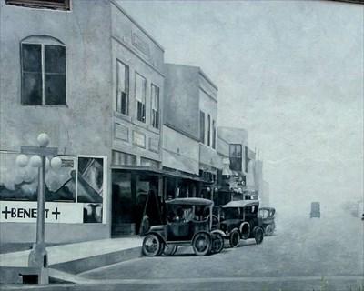Downtown McAllen TX