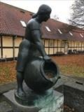 Image for Græsk pige med stor krukke - Odense, Denmark