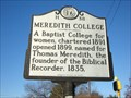 Image for Meredith College (H-38)