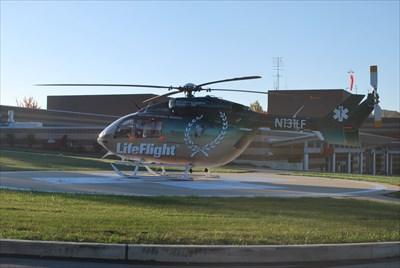 Lifeflight Helipad Allegheny Western Pa Helicopter