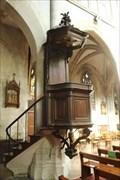 Image for Chaire à prêcher - Eglise Notre-Dame - Lillebonne, France