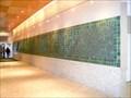 Image for Pewabic Tile Mural - Compuware Building - Detroit, Michigan