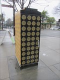 Image for Gold and Black Motif Box - Berkeley, CA