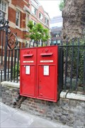 Image for Victorian Post Boxes - Laurence Pountney Hill, London, UK