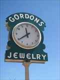 Image for Gordons Jewelry Clock - Las Vegas, New Mexico