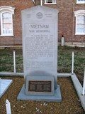 Image for Vietnam War Memorial, Coffee County Courthouse, Manchester, TN, USA