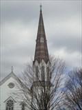 Image for Cambridge United Presbyterian Church Steeple - Cambridge, NY