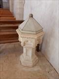 Image for Benitier eglise Notre Dame -Vouille,France