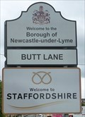 Image for Cheshire / Staffordshire - Congleton Road South, West Midlands, UK.