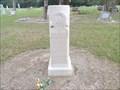 Image for W.B. Moody - Pattison Cemetery - Pattison, TX