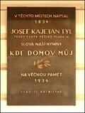 Image for Josef Kajetan Tyl - Hymna / Anthem, Praha, CZ