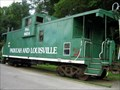 Image for Paducah and Louisville caboose - Uniontown, Kentucky