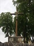 Image for Grande croix devant l'Eglise Saint Cybard - Latillé, Nouvelle Aquitaine, France