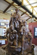 Image for Lewis, Clark, and Sacajawea -- Atchison Depot Museum, Atchison KS
