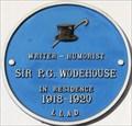 Image for Sir P G Wodehouse - Walton Street, London, UK