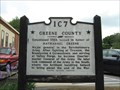Image for Greene Co. / Hawkins Co. - 1C 7 - Relocated to Greeneville, TN