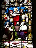 Image for The Feeding of the Multitude - Chepstow Priory - Wales. Great Britain.