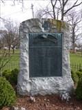 Image for Co. I 1st Regiment NY Volunteer Infantry Monument - Middletown, NY