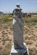 Image for FIRST Burial in Garden City Cemetery -- Garden City TX