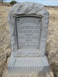 Image for Catherine Langstaff Chandler - Hillside Cemetery - Wagon Mound, New Mexico