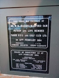 Foundation Stone for the new Club building - 2004.1840, Tuesday, 9 October, 2018