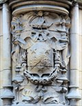 Image for Sir Thomas Gresham Coat-of-Arms - St Michael's Court, Trinity Street, Cambridge, UK