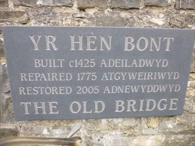 Yr Hen Bont - Stone Bridge