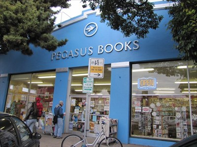 Pegasus Books, From the Right, Berkeley, CA