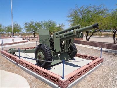 veritas vita visited M1A1 155mm Field Gun