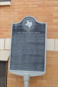 Image for FOUNDERS -- of the Southern Presbyterian Church of San Angelo, San Angelo TX
