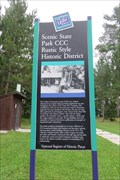 Image for Scenic State Park CCC Rustic Style Historic District - Bigfork, MN
