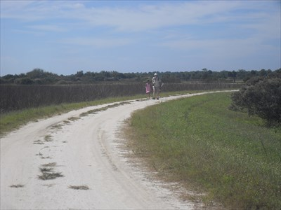 ...one of the trail roads.