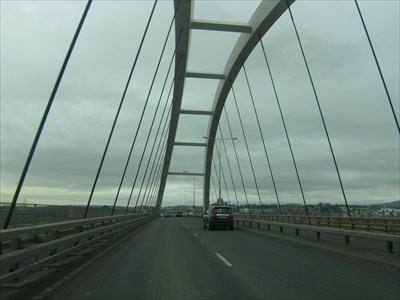City Bridge - Newport, Wales.