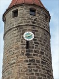 Image for Clock of Färberturm - Gunzenhausen, Germany, BY