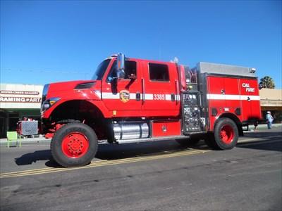 Fire Engine 3385 El Cajon Ca Fire Fighting Vehicles