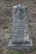 Image for OLDEST Marked Grave in Myrtle Springs Cemetery - Henderson County, TX