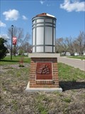 Image for Lighted Trail Markers with Relief Art – Coon Rapids, IA