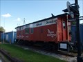 Image for Nickel Plate Road caboose 406 - Coshocton, Ohio