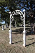 Image for Hillcrest Cemetery Arch -- Forney TX