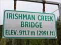 Image for 911.7 M - Irishman Creek Bridge - Yahk, BC