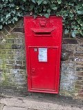 Image for Victorian Wall Post Box - Hampstead Lane, Hampstead, London NW3, UK